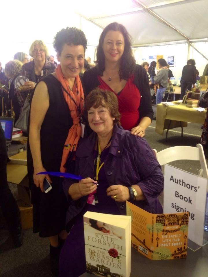 melbourne-jewish-writers_festival with Kate Forsythe and Hazel Edwards